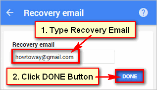 recovery-email