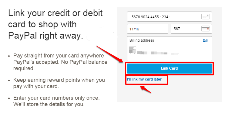 Link-your-PayPal-account-with-payment-card